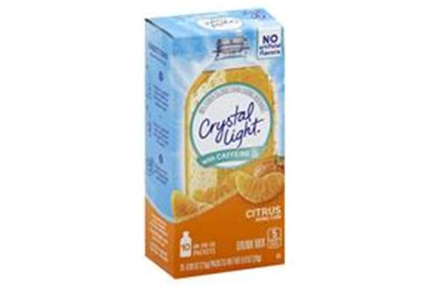 Light Caffeine by Light With Caffeine Citrus On The Go Drink Mix 10