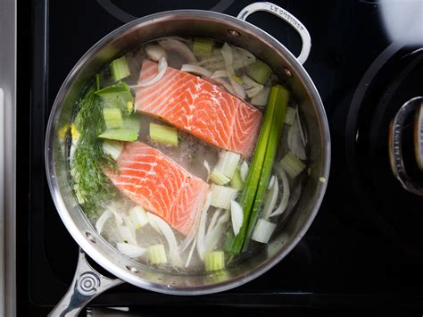 poached salmon the best way to poach salmon serious eats