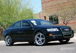 2006 audi a6 with 20 quot gianelle spezia 5 in chrome wheels
