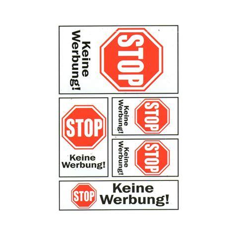 Aufkleber Keine Werbung Für Briefkasten by Briefkasten Aufkleber