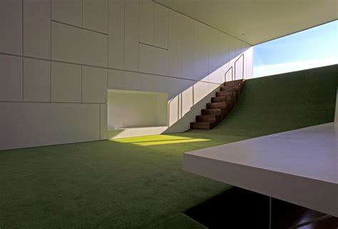 Sloping Floors In House by Bring The Hillside In Sloping Green Floors In A Japanese Home