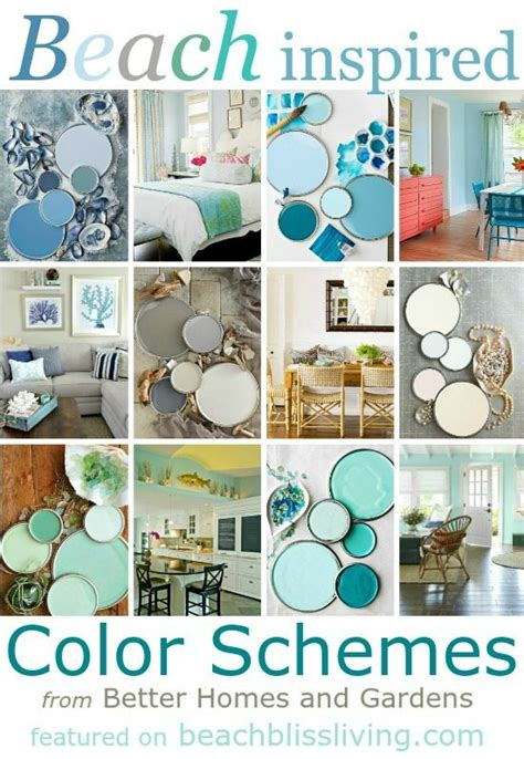 paint color schemes inspired from colors bliss living decorating and lifestyle