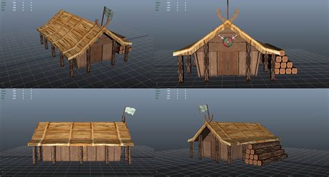 L 230 Ngehuset A Modular Holiday House By M 248 N Huset by Longhouse Plans Nate Charpentier S Blog Viking Longhouse