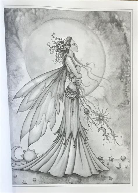 grayscale coloring fairies and mermaids a grayscale coloring book molly
