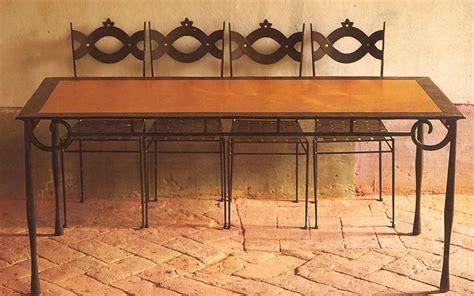 tavolo legno ferro tavolo ferro e legno letti in ferro battuto caporali quot il