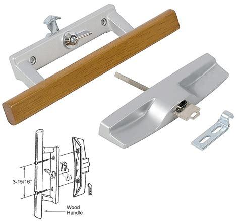 Patio Door Key Lock Sets Patio Door Key Lock Sets Patio Door Wood Aluminum Keyed Lock Handle Set With 3 15 16 Quot