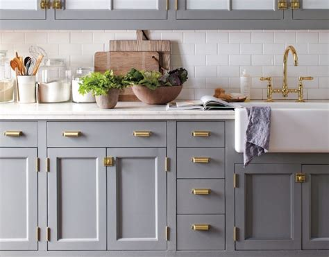 grey cabinets gold hardware your kitchen with grey kitchen cabinets