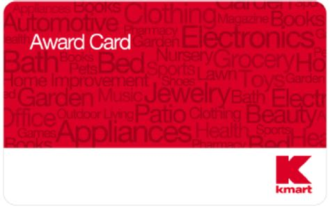 Kmart Gift Card Selection - earn kmart award card while holiday shopping frugal novice