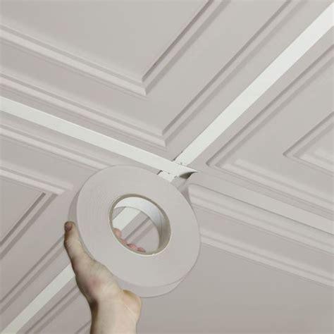 self adhesive ceiling tiles ceilume deco latte self adhesive decorative grid