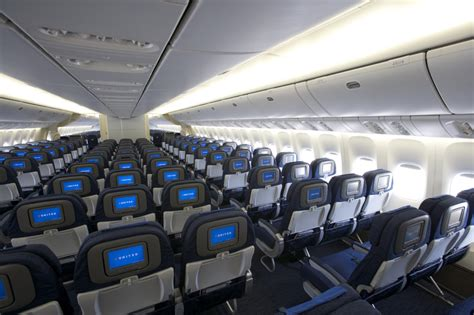 Air 777 Interior by United Airlines Boeing 777 New Economy Cabin Interior