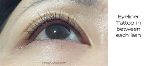 eyeliner tattoo didn t work eyeliner tattoo not so scary before and after photos