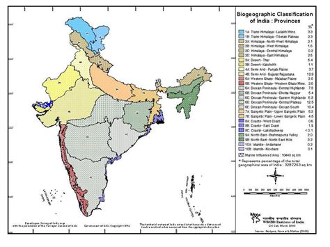 of india biogeographic classification of india provinces