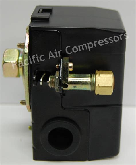 speedaire pressure switch 95 psi on 125 psi single port unloader valve pacific air compressors