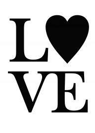 Love   Quotes   zwart wit   abcdkaarten   Black & white