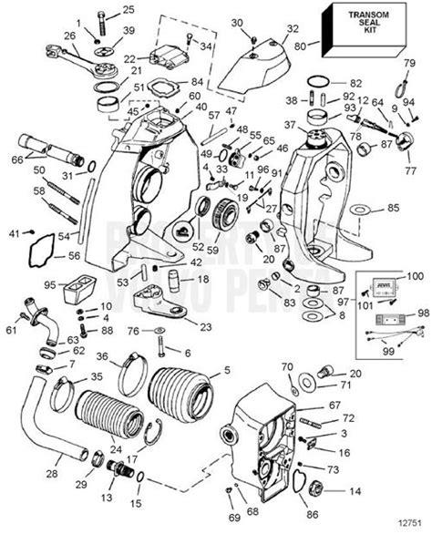 volvo penta sx outdrive diagram volvo penta outdrive parts diagram automotive parts