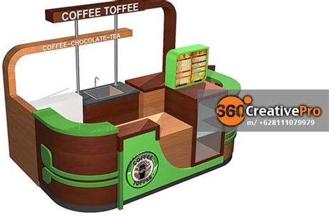 Franchise Coffee Toffee kontraktor booth coffee toffee dunia eo jakarta dunia