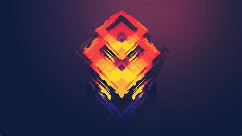 Abstract Wallpaper By Justin Maller | justin maller abstract facets gradient cgi