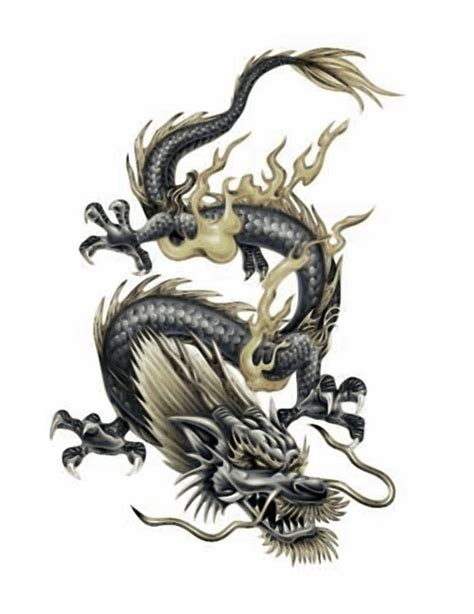 chinese dragon tattoo designs for men 3d free design ideas
