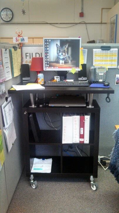 ikeahackers standing desk 15 best cheap standing desk images on home