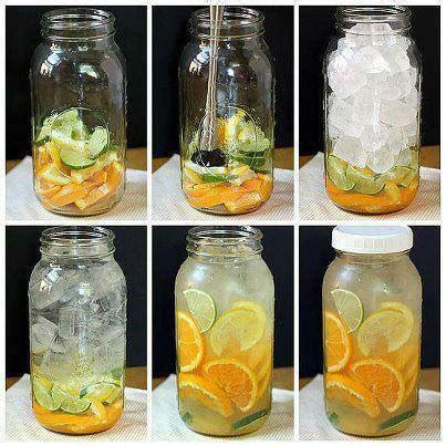 Water Only Detox by Mix Up Your Detox Water