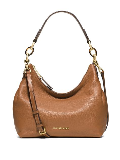 Michael Kors Mesh Hobo Purse by Michael Michael Kors Medium Pebbled Leather Hobo