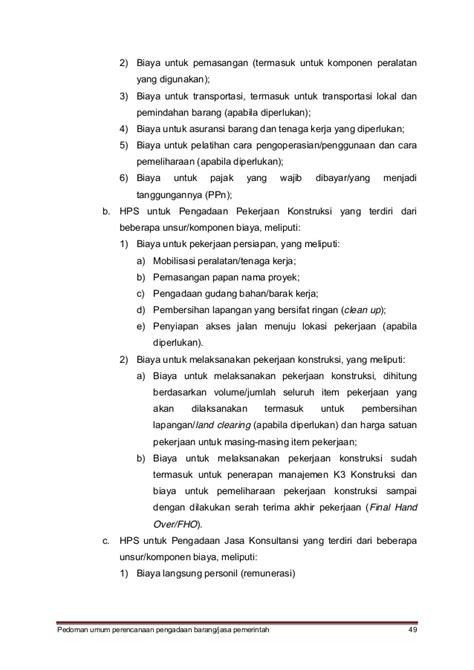Manajemen Biaya 1 Dan 2 Ed 5 pedoman umum perencanaan pbjp