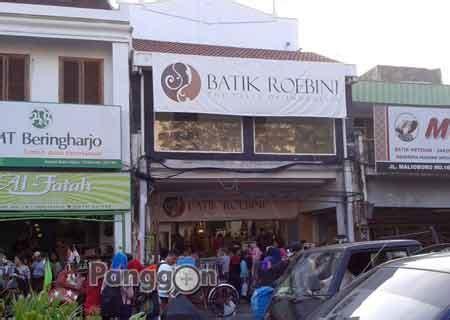 Toko Jogja alamat telepon toko baju kain batik roebini yogyakarta daerah istimewa yogyakarta