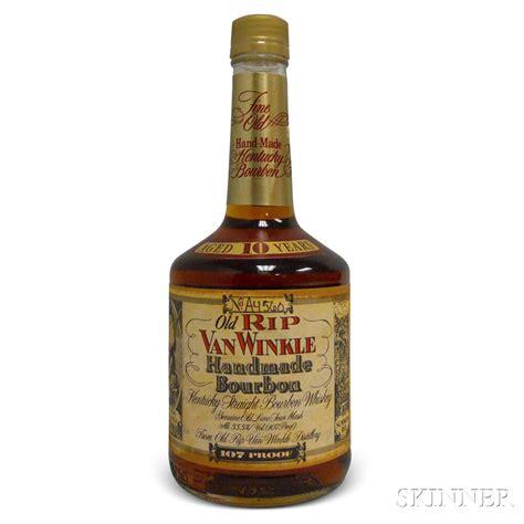 Handcrafted Bourbon - rip winkle handmade bourbon 10 years 2012 1