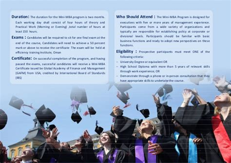 Passing The Mini Mba by Mini Mba Business Administration