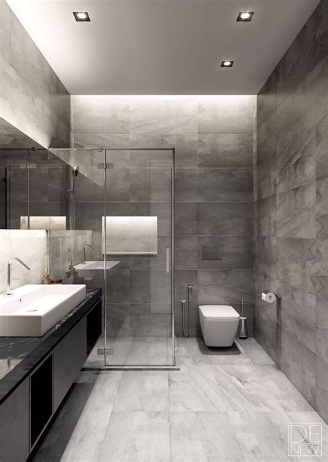 Modern Bathroom Design Grey And White Las 25 Mejores Ideas Sobre Techos De Ba 241 Os En Y