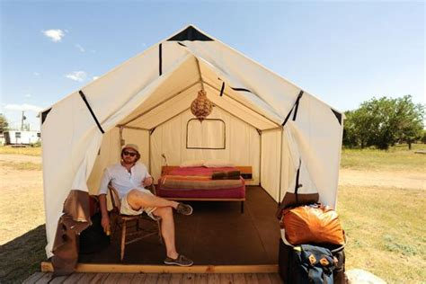 Tenda Great Outdoor Bigdome 6p el cosmico marfa tx glasswing