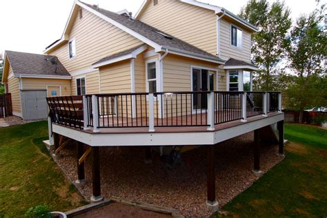 different deck designs luxescapes landscape design and installation contractor