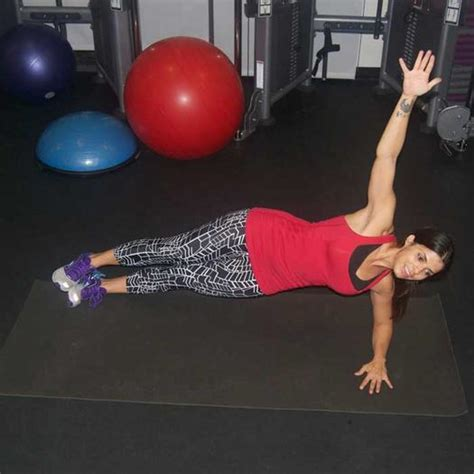 ab workout 10 plank exercise variations for a strong toned stomach shape magazine
