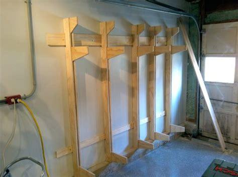 Wall Mounted Lumber Storage Rack by Wall Mounted Lumber Rack