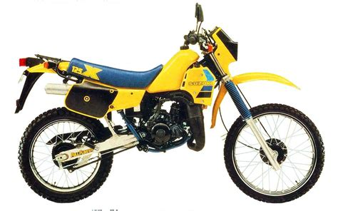 Suzuki Ts 125 suzuki ts125 model history