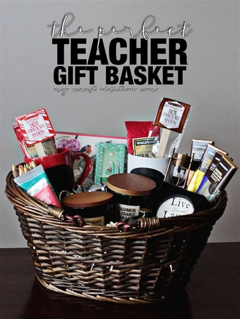 1000  ideas about Teacher Gift Baskets on Pinterest