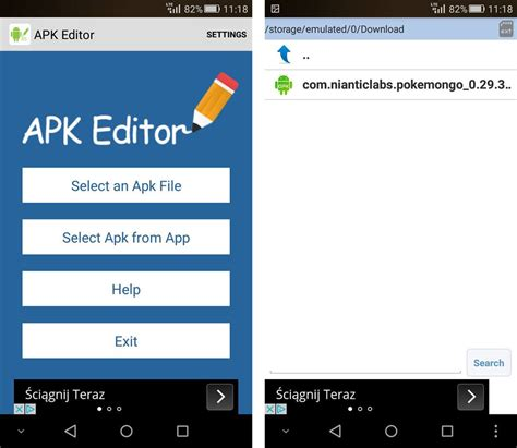 apk edit gry na tablet z androidem 4 1