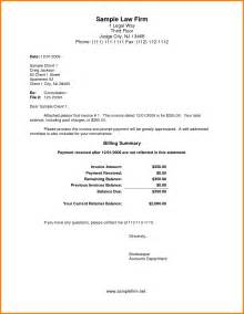 Letter For Services 7 Billing Letter For Services Rendered Cashier Resumes