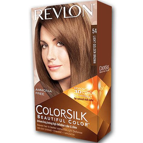revlon soni za kosu revlon colorsilk farba za kosu 54 light golden brown