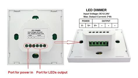 Touch Capacitive Button 6 Channel Dengan Led Backlight new product led touch dimmer led wall panel dimmer switch