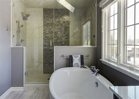 Spa Like Master Bathrooms by A Spa Like Master Retreat The Kitchen Studio Of Glen Ellyn
