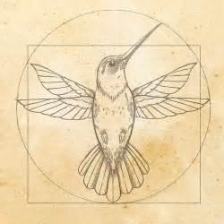 leonardo da vinci hummingbird drawing tattoo contest