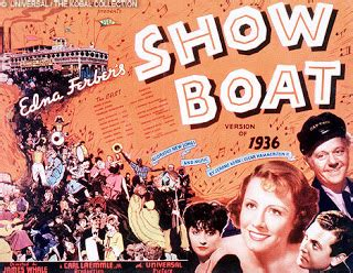 show boat 1936 a trip down memory lane show boat 1936