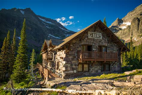 Glacier National Park Cabin by Sperry Chalet Glacier National Park The Artful Appetite