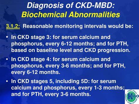 Bio Chemical kdigo ckd mbd