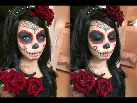 tutorial makeup catrina 17 best images about dia de los muertos on pinterest