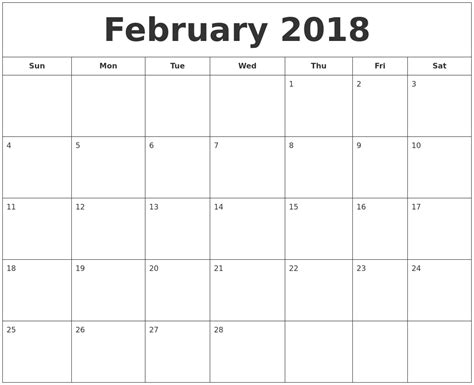 printable calendar january february 2018 april 2018 free printable calendar