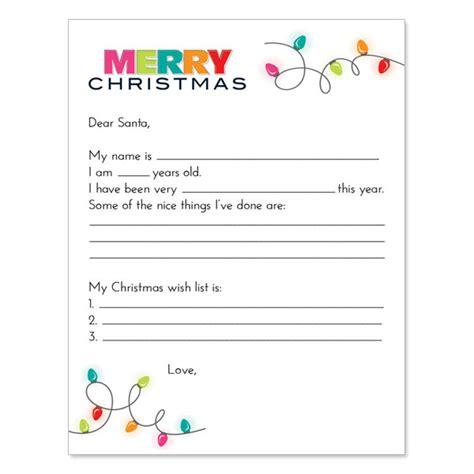 dear santa letter how to write the quot dear santa quot letter current