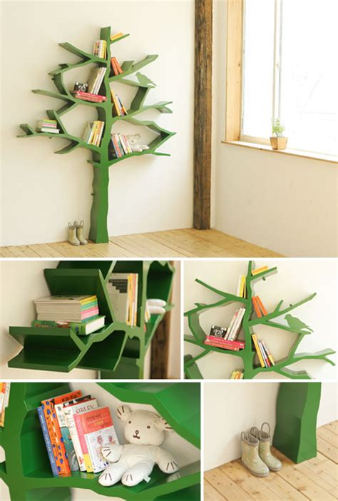 designvagabond tree bookshelf by shawn soh