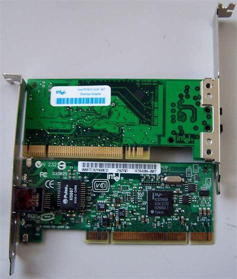 Pwla8390mt Intel Pro1000 Desktop Adapter intel pro 1000 mt desktop ethernet adapter nwout